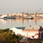 Каламитский залив. Евпатория. Фото Елены Покрепы.