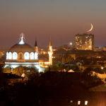 Вечерняя Евпатория. Фото Е. Покрепы.