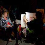 Уличный художник. Евпатория.Фото Елены Покрепы
